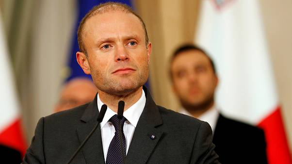 Image: Maltese Prime Minister Joseph Muscat speaks at a press conference in
