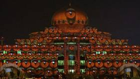 ترکیب فناوری و معماری عرب در جشنواره نور شارجه