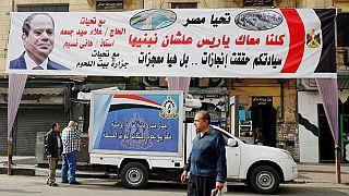 """Les alliés d'Al-Sissi sommés de dénoncer l'élection """"farfelue"""" en Egypte"""