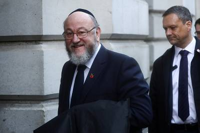 "Britain\'s chief rabbi, Ephraim Mirvis, said the ""very soul of our nation is at stake"" in this election in a comment piece in The Times newspaper on Nov. 25."