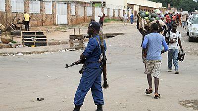 Burundi police threaten opposition to constitution change