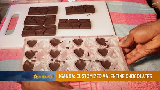 Valentine's day with Ugandan chocolate [The Morning Call]