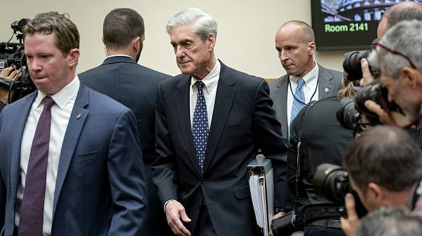 Image: Robert Mueller arrives to testify before the House Judiciary Committ