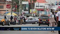 Ghana will withdraw from the IMF's three-year financial aid programme