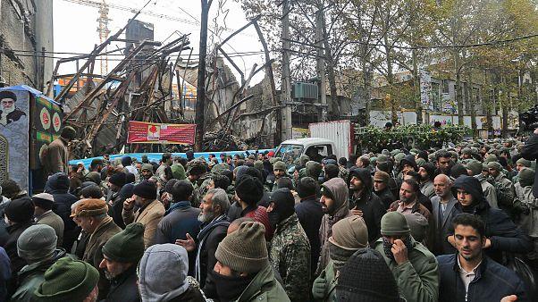 Image: Iranian mourners