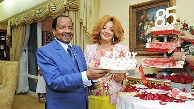 [Photos] Cameroun: un gâteau pour le 85e anniversaire de Paul Biya