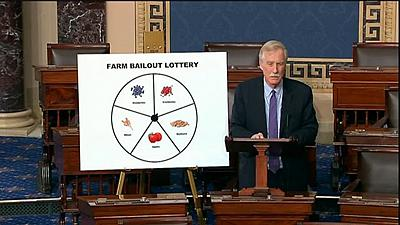 Sen. Angus King of Maine sent a letter to U.S. Trade Representative Robert Lighthizer and Agriculture Secretary Sonny Perdue urging them to help wild blueberry producers whose livelihood has been put at risk by the Trump administration\'s trade war with China.