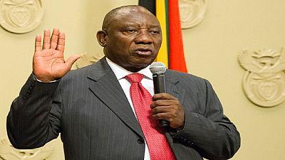 Afrique du Sud : le président élu Ramaphosa promet de défaire la corruption
