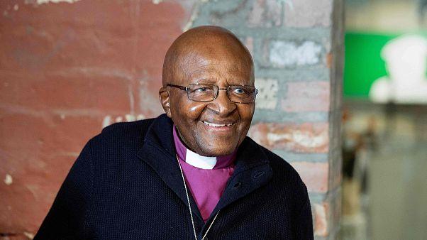 Image: Archbishop Emeritus and Nobel Laureate Desmond Tutu in Cape Town