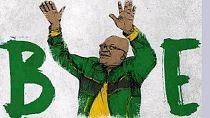 #ZumaHasFallen: Cartoonists give Jacob Zuma funny send-off