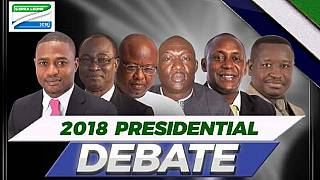 Sierra Leone holds presidential debate ahead of March 7 polls
