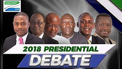 Sierra Leone holds presidential debate ahead of March 7 polls