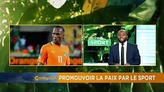 Promoting peace through sport [Sport]