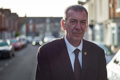 Mike Hill, Labour Party parliamentary candidate for Hartlepool.