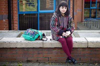 Amy Heald, 19, from Thornaby is a student in Hartlepool.