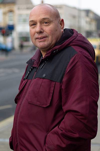 Ray Smedley from Hartlepool.