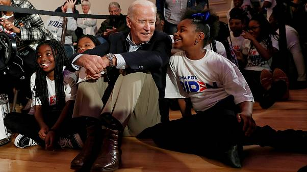 Image: Democratic 2020 presidential candidate and former Vice President Joe