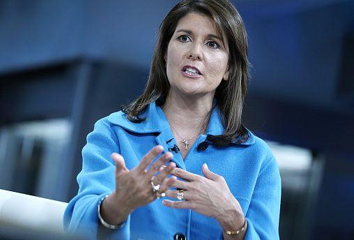 Image: Former U.N. Ambassador Nikki Haley.