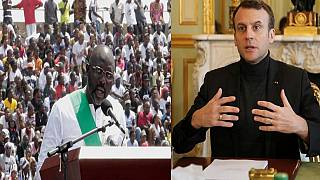 Liberia : les symboles du voyage de George Weah en France
