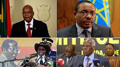 Les partis au pouvoir, protecteurs et opposants des présidents africains