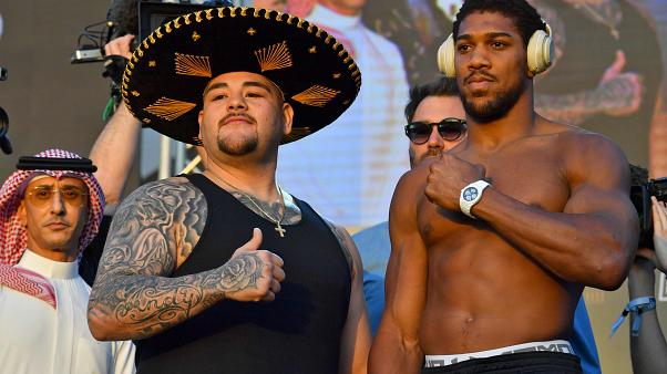 Image: BOXING-HEAVYWEIGHT-RUIZ-JOSHUA