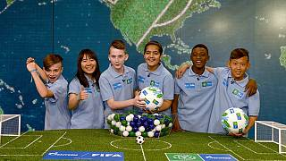 Football for Friendship draw held ahead of the 2018 World Cup