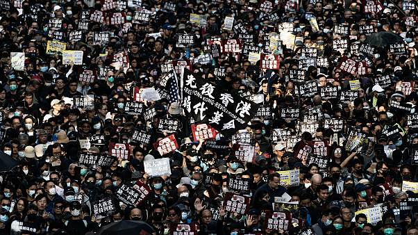 Image: Anti-Government Protests in Hong Kong
