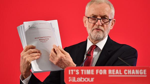 Image: Jeremy Corbyn Makes Campaign Announcement On NHS