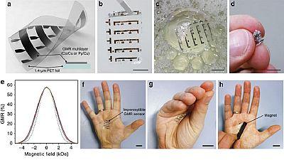Un Japonais invente un écran LED ultra-fin, semblable à la peau