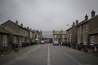 Cluan Place, a Protestant enclave in Belfast.