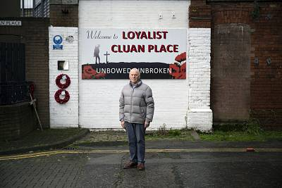 John Kyle, stood in Belfast\'s Cluan Place, says the election has brought out ugly language from all sides.