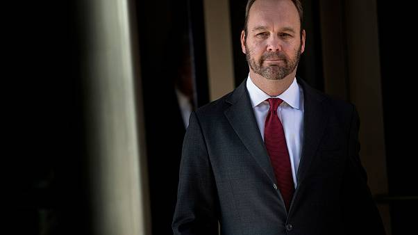 Image: Former Trump campaign official Rick Gates leaves Federal Court on De
