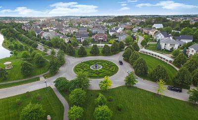 """The roundabout in the Village of West Clay was named """" International Roundabout of the Year"""" by the U.K. Roundabout Appreciation Society in 2016."""
