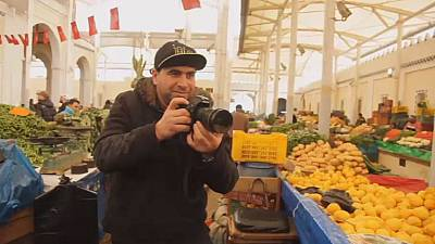 Meet Hamza Ayari, the Tunisian lemon vendor with a knack for photography