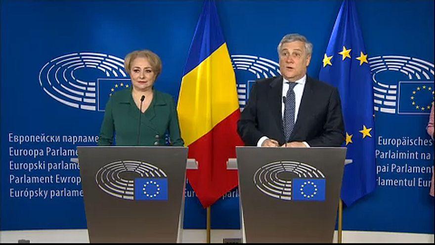 """""""Breves de Bruxelas"""": PM romena de visita a Bruxelas e oposição síria denuncia abusos em Ghouta oriental"""