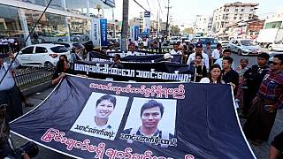 Myanmar court set to hear journalists' bail plea