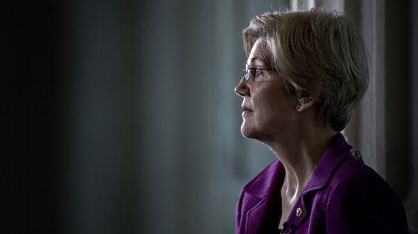 Image: Sen. Elizabeth Warren in Washington in 2017.