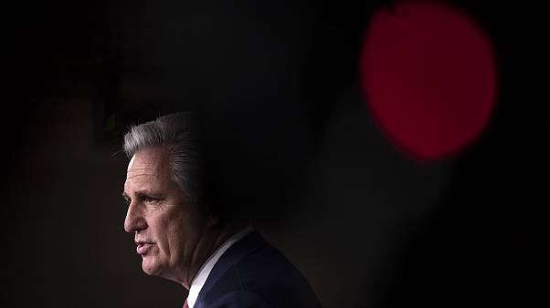 Image: Minority Leader Kevin McCarthy Holds Weekly Press Conference