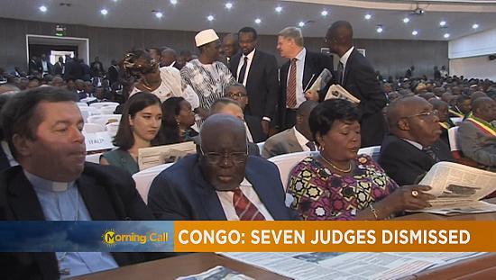 Congo dismisses seven magistrates [The Morning Call]