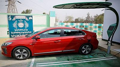 Electric car-charging stations changing the face of Egypt