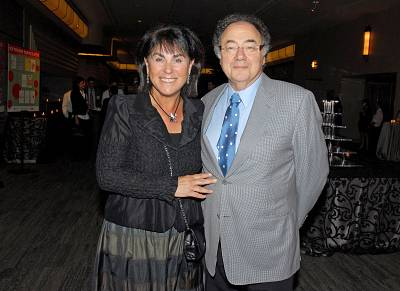 Barry and Honey Sherman attend a fundraiser in Toronto in 2010.
