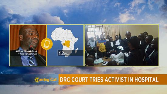Prosecution trial held in hospital room for DRC's opposition leader [The Morning Call]