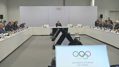IOC Executive Board meets to discuss Russia suspension