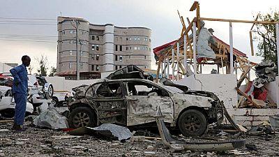 Vehicle bomb, gunfire in Somali capital
