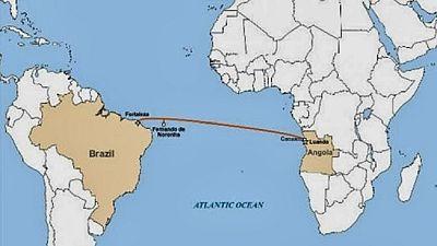 Le câble sous-marin SACS atteint le continent à Fortaleza, au Brésil