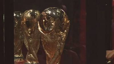 World Cup Trophy makes stop in Africa ahead of 2018 Russia event