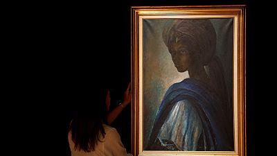 La princesse Tutu, modèle d'un célèbre tableau nigérian, serait encore en vie
