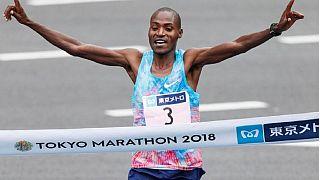 Kenya's Dickson Chumba wins Tokyo Marathon