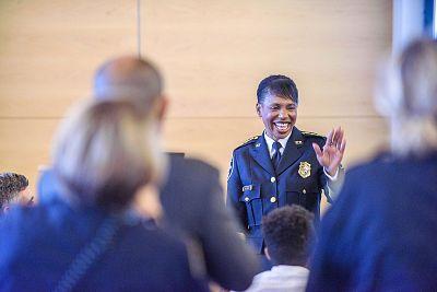 Seattle Police Chief Carmen Best.