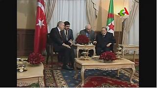 Erdogan, Bouteflika meet in Algiers